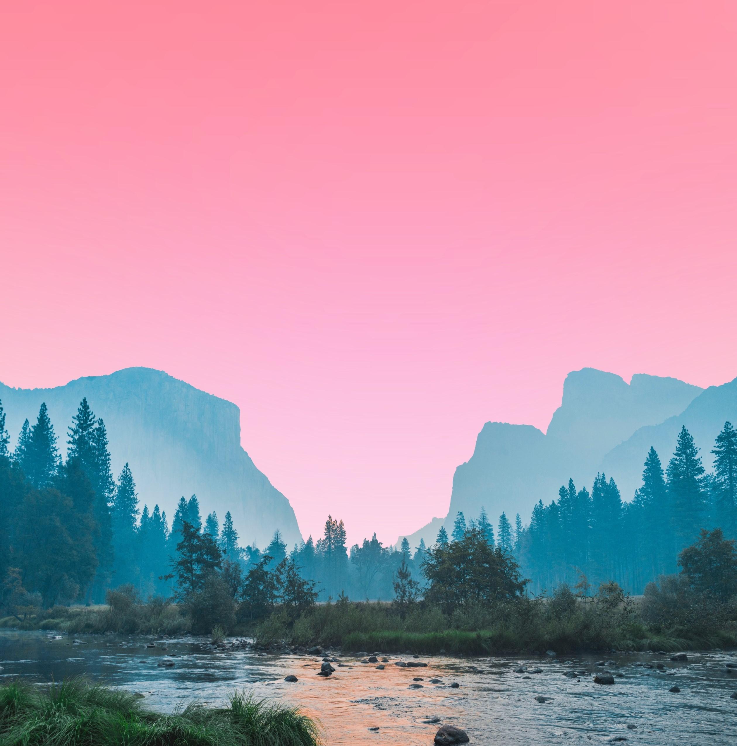 Breathtaking Gradient Valley Landscape